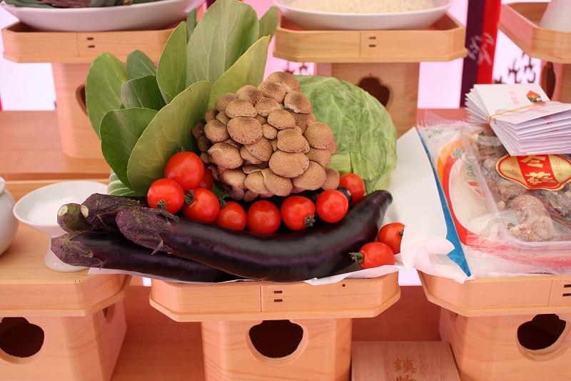 地鎮祭 お供え 野菜